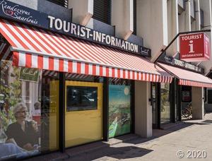 Tourist-Info Saarlouis Aussenansicht Foto: Kolja Koglin