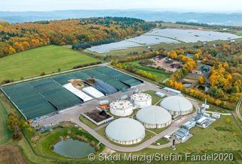 Bio-Erdgasanlage - PV-Anlage b