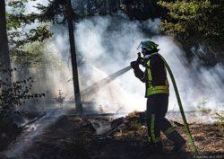 Waldbrände zwischen Ensdorf und Hülzweiler