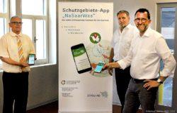 """Schutzgebiete App """"NaSaarWas"""""""