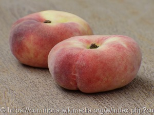 Der Plattpfirsich (Prunus-persica)1060223