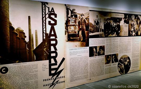 Wandzeitung in der Ausstellung