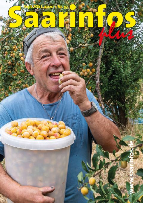 Saarinfos Plus - Ausgabe September Oktober 2020 Titelbild