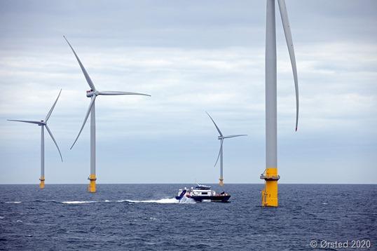 """""""Offshore Windpark Hornsea One baut auf Grobblech von Dillinger"""""""