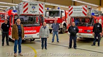 Freiwillige Feuerwehr Innenstadt, Neue Drehleiter