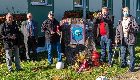Die Roten Jäger trafen sich in der Graf Werder Kaserne in Saarlouis aus Anlass des 100. Geburtstages von Fritz Walter