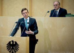 Tobias Hans bei der Plenarsitzung des Bundesrates