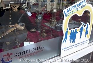 """""""Lauterner Schaufenster"""": Ausstellungsserie in den Schaufenstern des Quartiersbüro Fraulautern"""