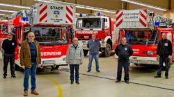 Vor wenigen Wochen nahm die Freiwillige Feuerwehr Dillingen ihre neue, hochmoderne Drehleiter in Empfang.