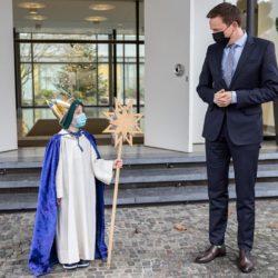 Sternsinger bei Tobias Hans