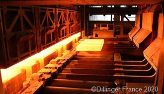 """Mit der Modernisierung des Stoßofens Nr. 2 reduziert Dillinger France seine CO2-Emissionen."" Foto:_ Dillinger France"