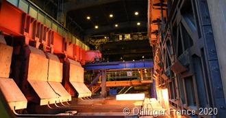 "Foto_2 ""Mit der Modernisierung des Stoßofens Nr. 2 reduziert Dillinger France seine CO2-Emissionen."" Foto:_ Dillinger France"