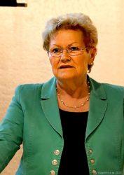 Gesundheitsministerin Monika Bachmann