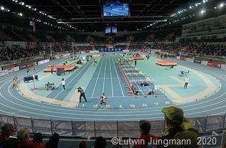 Die moderne Leichtathletikhalle von ToruńFoto Lutwin Jungmann