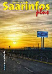 Titelseite Saarinfos Plus - Ausgabe März 2021