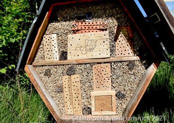 Wildbienenhauswabe Hermeskeil_NPSH b