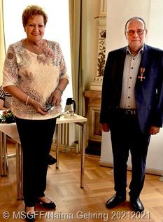 Ministerin Bachmann, Hans Grauss (vlnr)