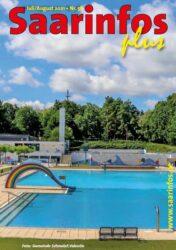 Titelseite Saarinfos Plus - Ausgabe Juli August 2021