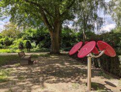 Fitness-Parcours im Stadtgarten