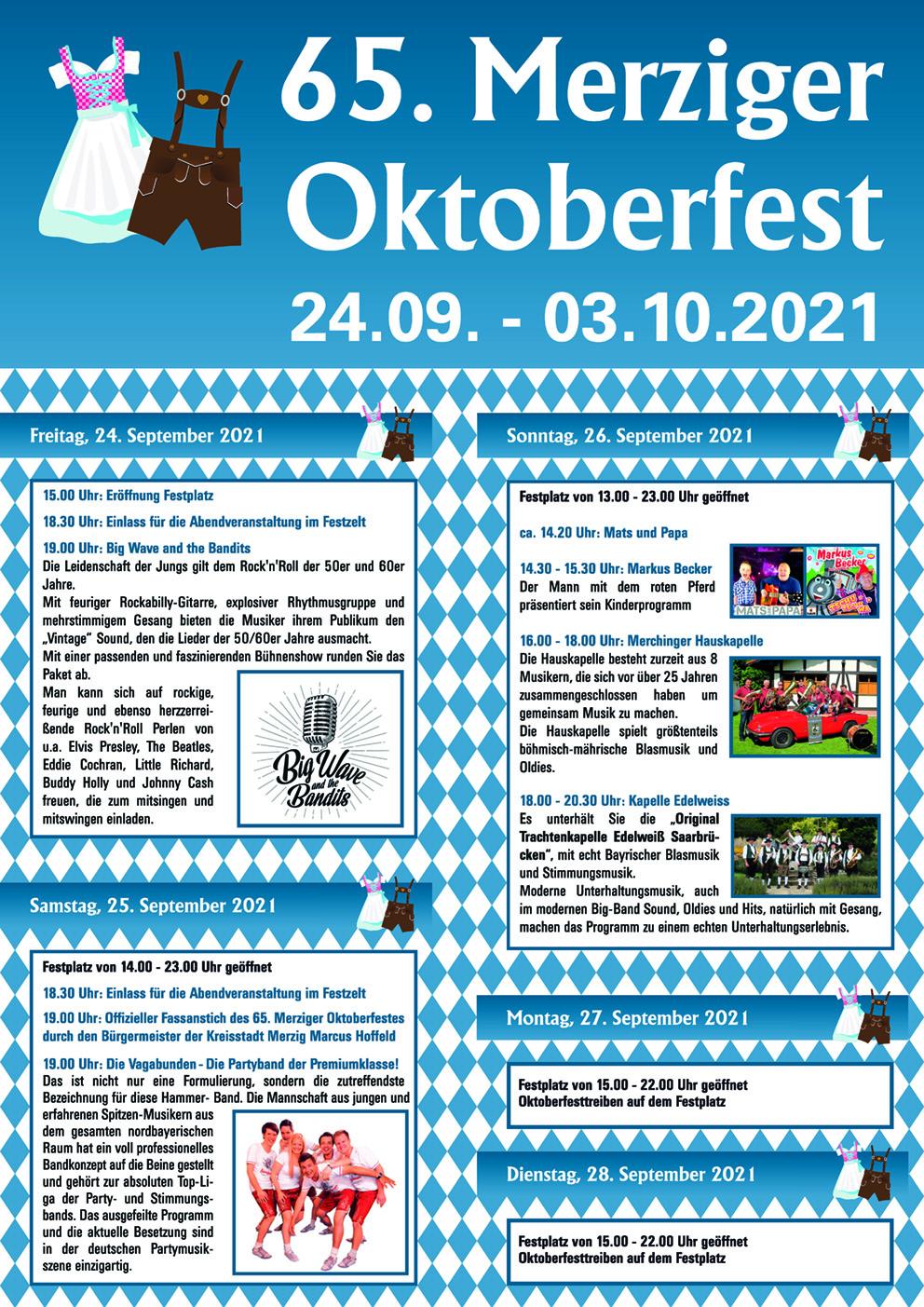 65. Merziger Oktoberfest 2021