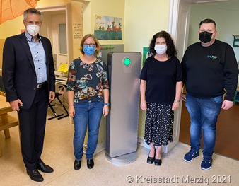 Luftfiltergerät St. Josef b