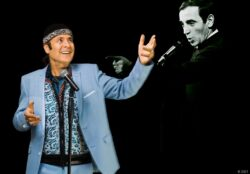Marcel-Adam präsentiert Charles Aznavour
