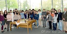 Empfang Landratsamt Saarlouis Schülergruppe des Lycée Michelet in Montauban - Gäste des Max-Planck-Gymnasiums Saarlouis
