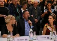 Wahl zur Miss Mister Saarland 2017 Juila Assmann Joachim Llambi Sina Marx 0953