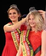 Krönung zur Miss Saarland 2017 durch Miss Saarland 2016 1015