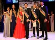 Gruppenfoto der Sieger Miss und Mister Saarland Wahl 2017 1025