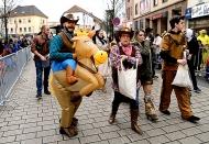 Rathaussturm und Umzug in Dillingen Fastnacht 2017 D2221