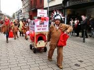 Rathaussturm und Umzug in Dillingen Fastnacht 2017 D2245
